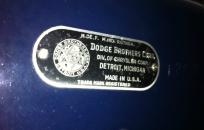 dodge-plakette