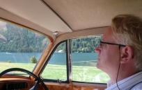 Fahrt im Bentley S2
